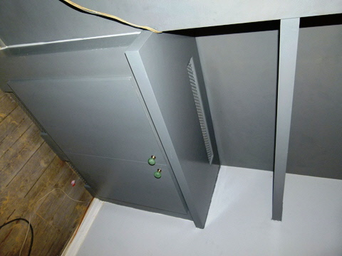 Putney-SW15-Earlsfield-SW18 Dark Grey Fitted Designer Alcove Units